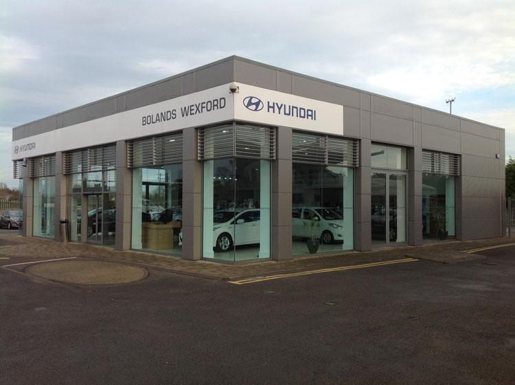 Mahon Fox Automotive architecture and engineering Hyundai Garage