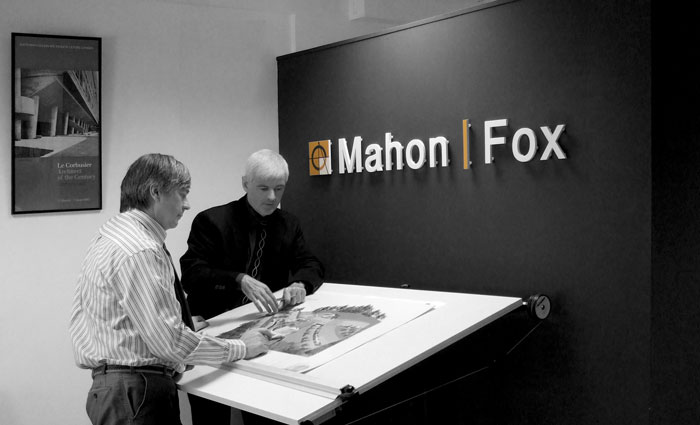 Mahon Fox Architecture and Engineering Practice. Mahon Fox's Services include Architectural Design, Architects, BER, building energy rating, building compliance certification, Fire Safety Certificate applications, experienced assigned certifier, building control ammendment regulations, architectural Project Management, engineering project manager, Planning Consultancy and Planning applications.