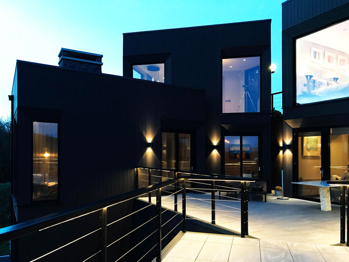 Mahon Fox Residential architecture and engineering New build contemporary house