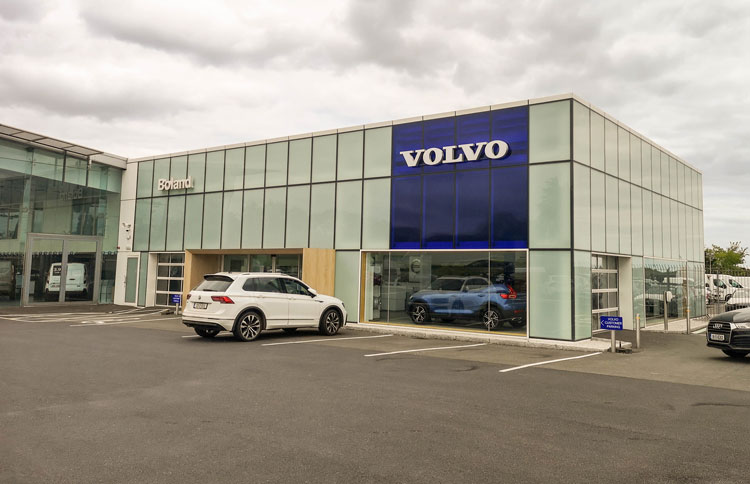 Mahon Fox Automotive architecture and engineering volvo garage