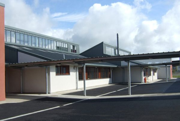 Mahon Fox education architecture and engineering vocational school building